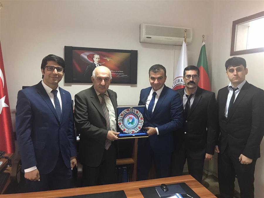 Gümrük Muhafaza Personeli Derneğinin, Bursa Gümrük Muhafaza Kaçakçılık ve İstihbarat Müdürlüğüne Ziyaretleri