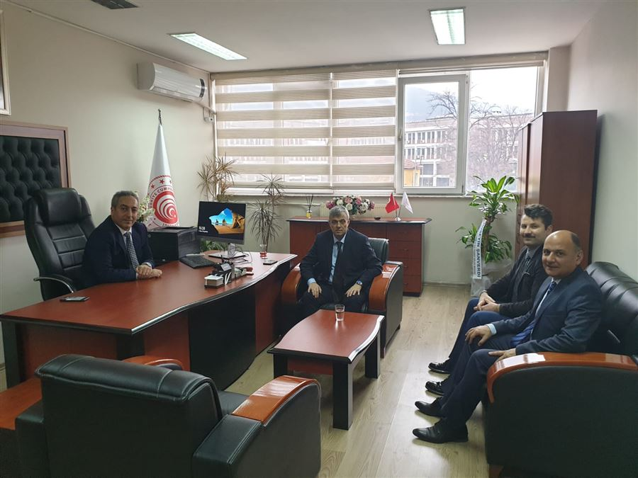 Bursa İl Ticaret Müdürü İsmail Aslanlar'a Ziyaret