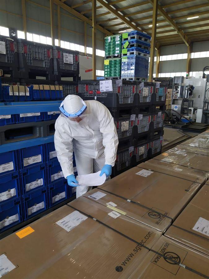 Mudanya Gümrük Müdürlüğü Covid19 Virüsünden Korunma Kapsamında Antrepo ve Araç Üstü Muayene İşlemleri