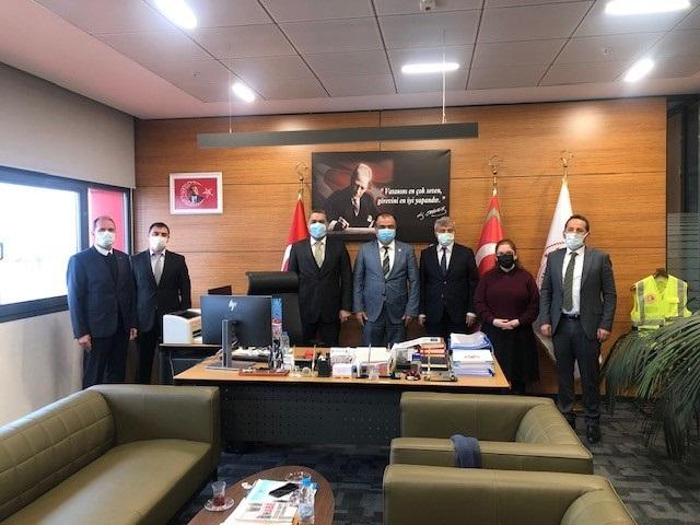 Gümrükler Muhafaza Genel Müdür Yardımcısı Sayın Mehmet ÖZKOÇ'un Ziyareti